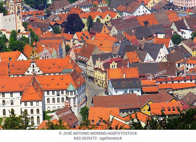 Fussen, Castle, Allgau, Romantische Strasse, Romantic Road, Bavaria, Germany, Europe