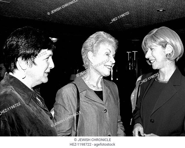 Ruth Rendell (1930- ), British crime writer, 1999