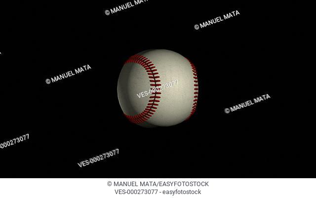 Baseball, official ball, loop