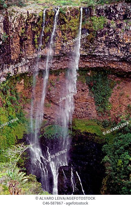 Waterfall. Chamarel. Mauritius