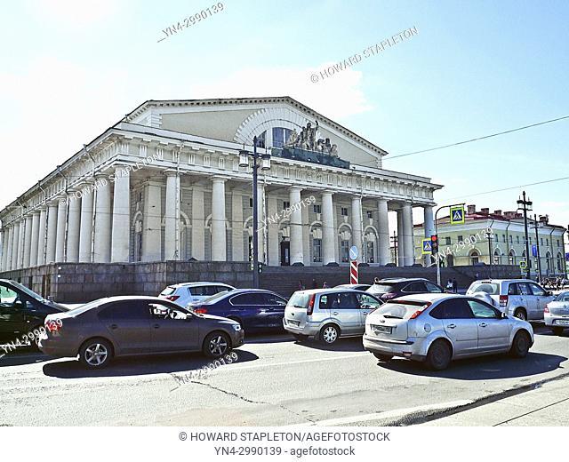 St. Petersburg, Russia Stock Exchange