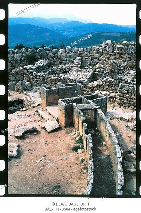 Greece - Peloponnesus - Mycenae. Grave Circle A