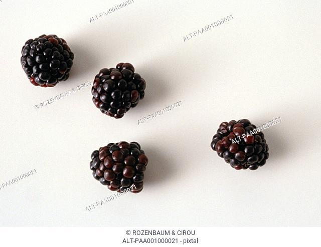 Blackberries, close-up