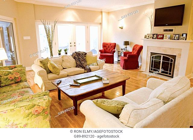bright relaxing living room