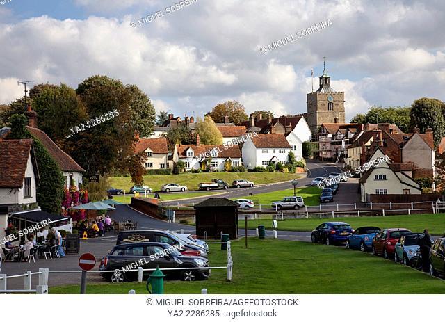 Finchingfield Village in Essex - UK
