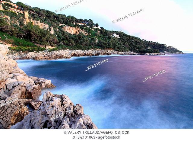 The Cap Ferrat, Alpes-Maritimes, French Riviera, Côte dAzur, Provence-Alpes-Côte d'Azur, France