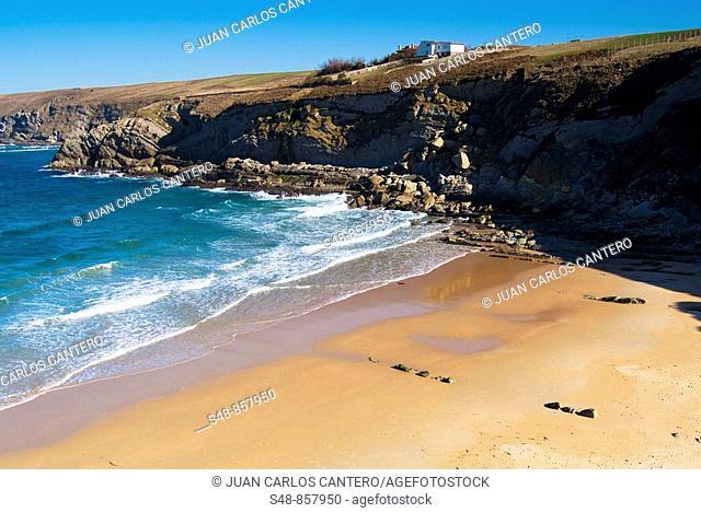 The Arnía beach, Soto de la Marina, Cantabria, Spain