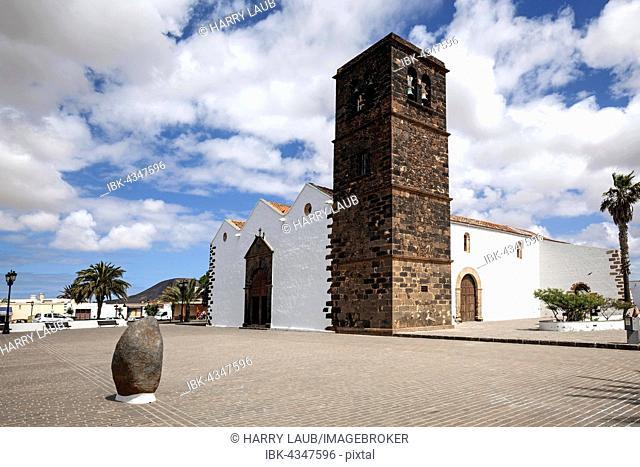 Iglesia de Nuestra Señora de la Candelaria, La Oliva, Fuerteventura, Canary Islands, Spain