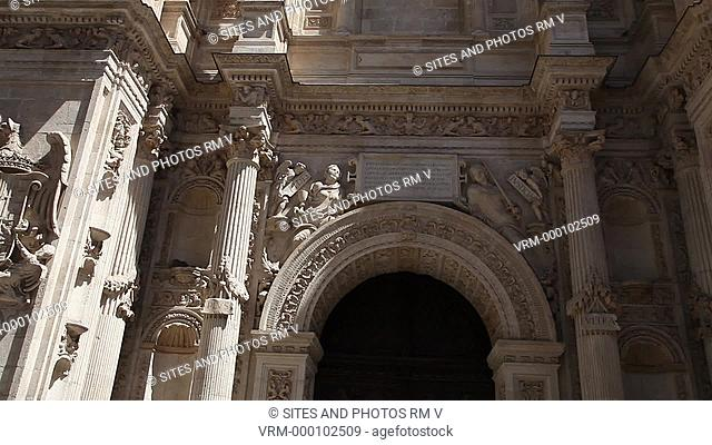 Exterior, TILT up, Door of Forgiveness, Renaissance style. Diego de Siloe worked on the lower section himself from 1535 to 1538