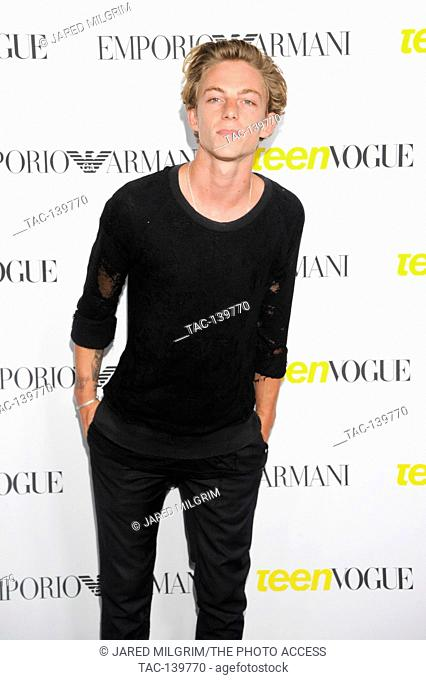 Ben Nordberg attends the Teen Vogue Young Hollywood Issue Party on October 2nd, 2015 in Beverly Hills, California