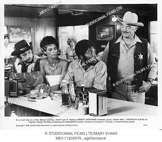 Convoy (1978) Burt Young, Ali McGraw , Ernest Borgnine , Franklyn Ajaye