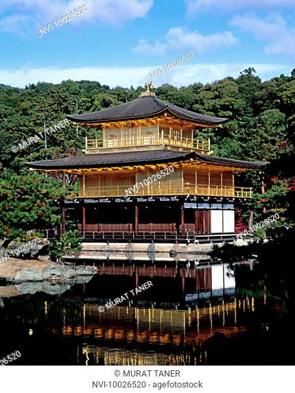 Kinkakuji Temple, Golden Pavilion, Kyoto, Japan