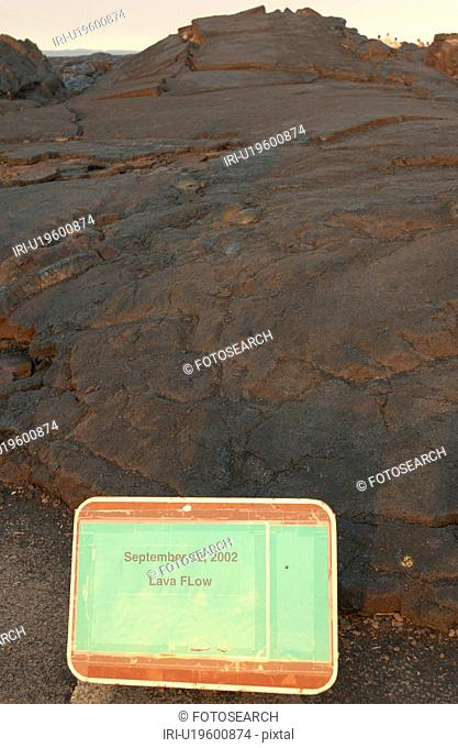 Volcano National Park - Big Island of Hawaii - hardened lava