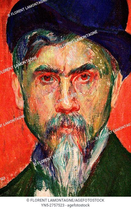 Portrait of Alexis AXILETTE (1860-1931), painter
