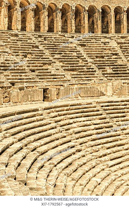 Aspendos Roman Theatre, Antalya province, Turkey