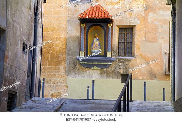 Camino de Santiago way in Xativa also Jativa Saint James Way of Levante