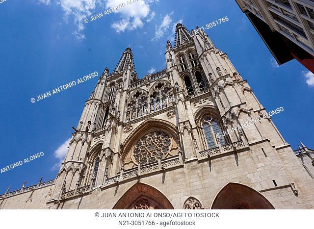Santa Iglesia Catedral Basílica Metropolitana de Santa María. .Burgos, Castlla y León, Spain