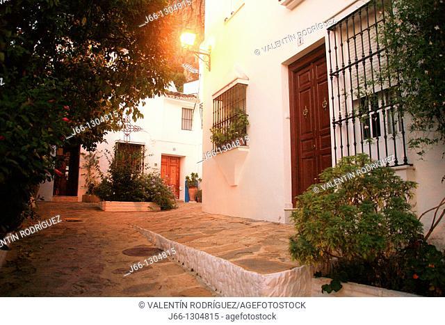 Street, Ubrique, Sierra de Grazalema Natural Park, Cadiz province, Andalusia, Spain