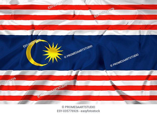 Waving Flag of Kuala Lumpur