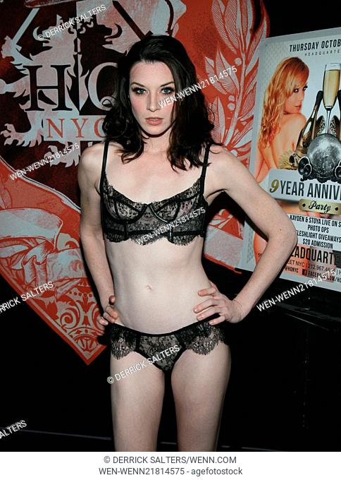 Headquarters Gentlemens Club 9th Year Anniversary Bash Hosted By Stoya And Kayden Kross Featuring Stoya