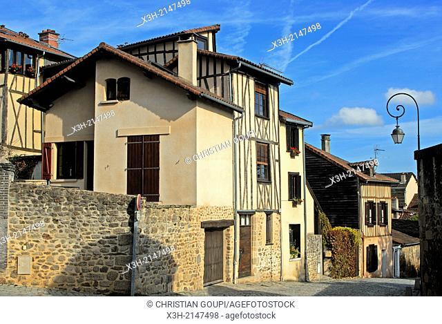 Rue de la Regle, Limoges, Haute-Vienne department, Limousin region, France, Europe