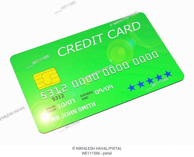 Generic chip pin credit card