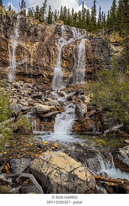 Tangle Falls, Jasper National Park; Alberta, Canada