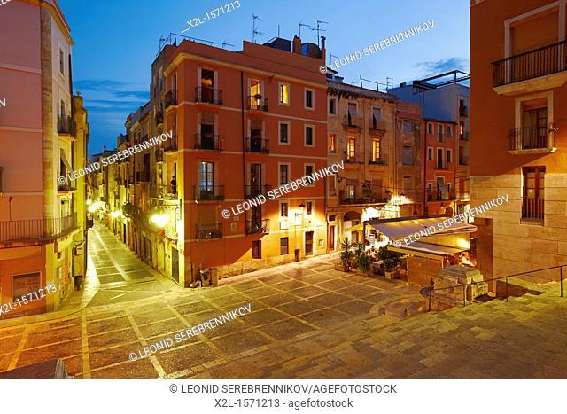 Old town. Tarragona, Catalonia, Spain