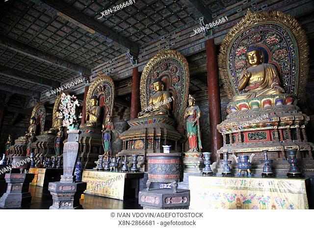 Huayan temple, Datong, Shanxi, China
