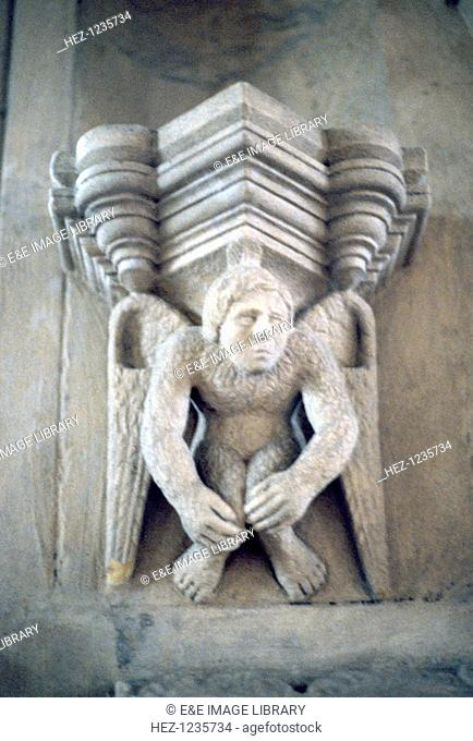 Corbel, Rosslyn Chapel, Corbel, Roslin, Midlothian, Scotland. In architecture a corbel (or console) is a term for a piece of stone jutting out of a wall to...