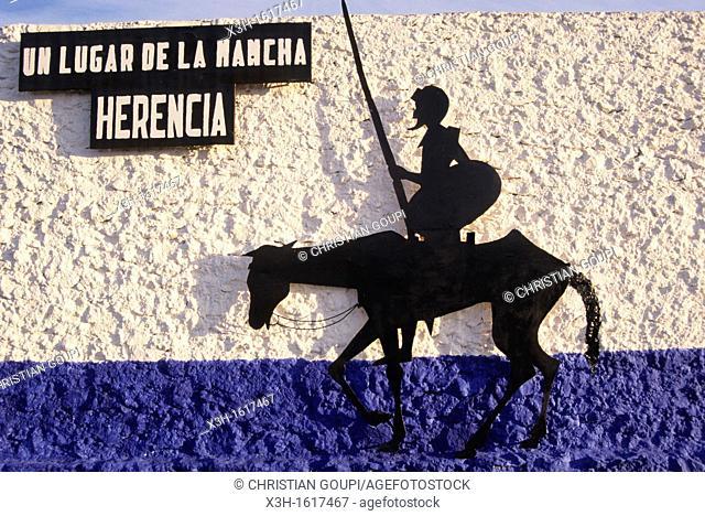 Don Quixote, El Toboso, Province of Toledo, autonomous community Castile-La Mancha, Spain, Europe