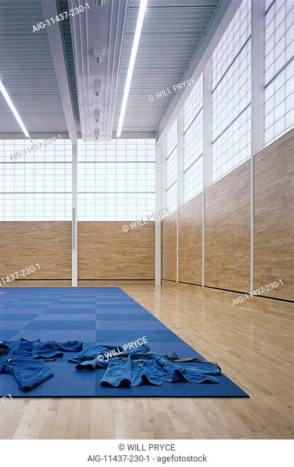 Dartford Judo Club Dartford, Kent, 2006. Interior