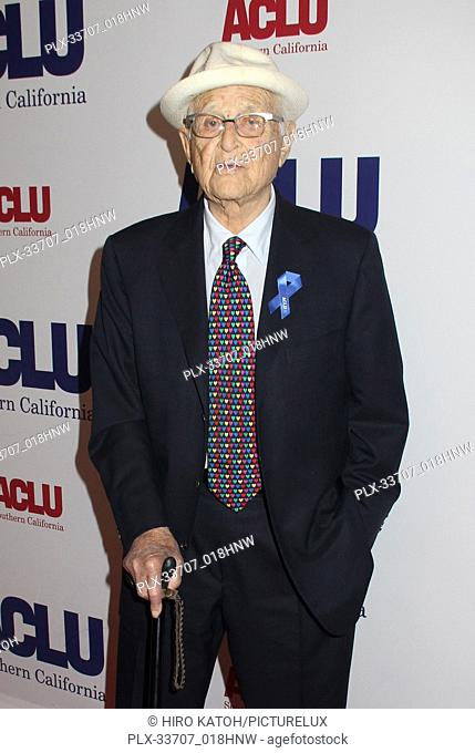 Norman Lear 11/11/2018 The ACLU SoCal's Annual Bill of Rights Dinner held at The Beverly Wilshire Hotel in Beverly Hills