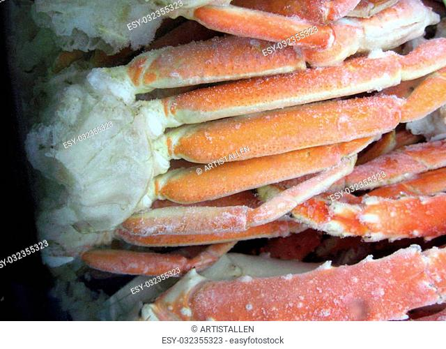 King crab legs Stock Photos and Images   age fotostock
