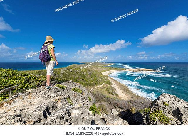 France, Guadeloupe (French West Indies), Grande Terre, Saint François, Pointe des Chateaux is a peninsula at the eastern end of the island