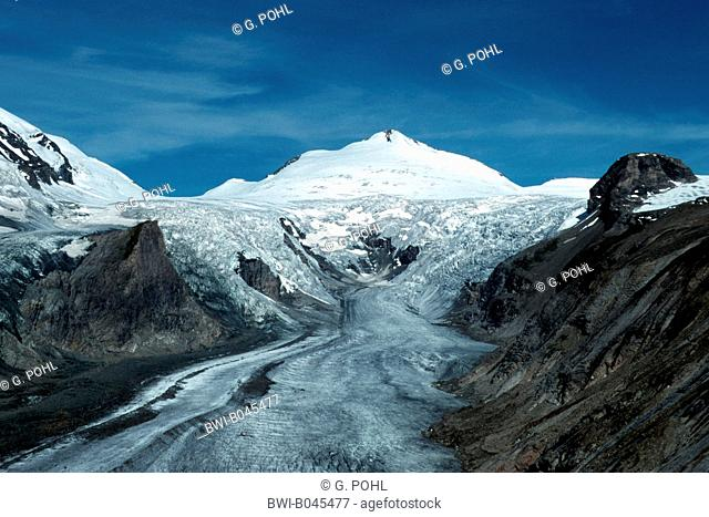Glacier at the Grossglockner, Austria, Alps, Hohe Tauern National Park