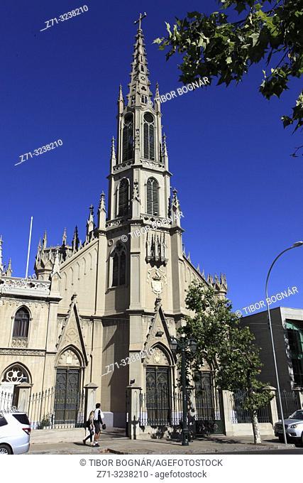 Chile, Vina del Mar, Las Carmelitas Church,