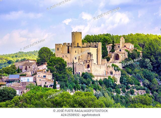Spain, Catalonia, Barcelona province, Castellet City, the castle