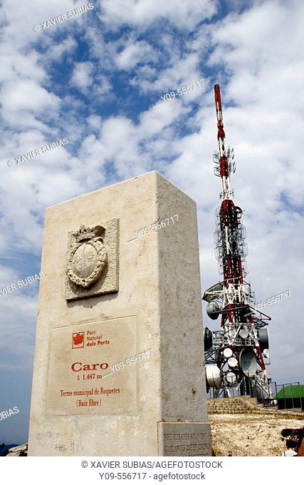 Mont Caro. Ports de Tortosa Beseit. Baix Ebre. Tarragona province. Spain