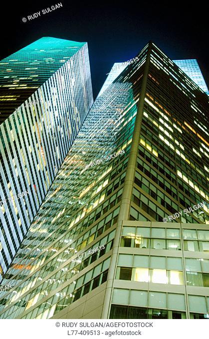 City Group Center, Midtown Manhattan. New York City, USA