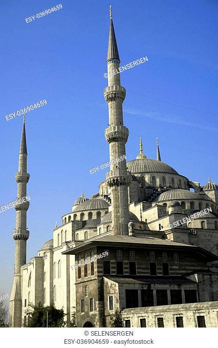 Suleymanie Mosque (Blue Mosque) Istanbul, Turkey