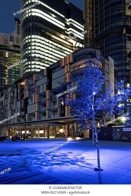 Australia, Sydney, New South Wales, night