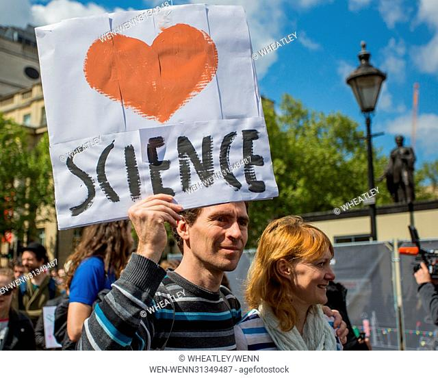 Scientists and science enthusiasts in London join hundreds of thousands of people in more than 400 locations across the globe to recognise scientific progress