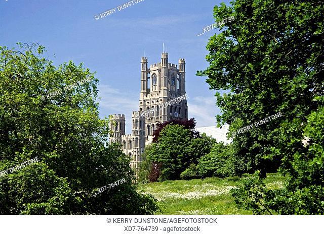 England Cambridgeshire Ely Cathedral