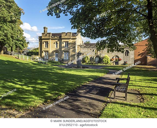 The Old Spa Building in Starbeck near Harrogate North Yorkshire England