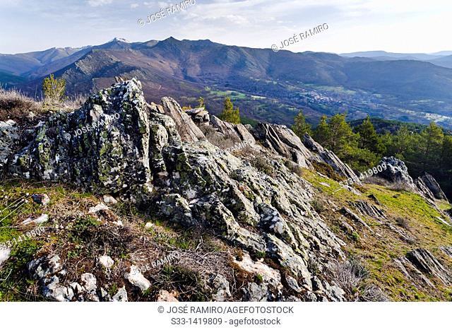 El Cardoso de la Sierra en la Sierra Norte  Guadalajara  Castilla la Mancha  Spain