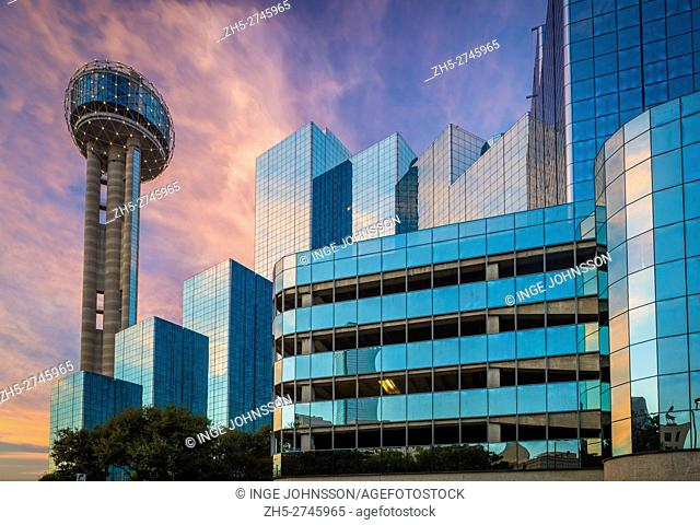 Reunion Tower is a 561 ft (171 m) observation tower and one of the most recognizable landmarks in Dallas, Texas. Located at 300 Reunion Blvd