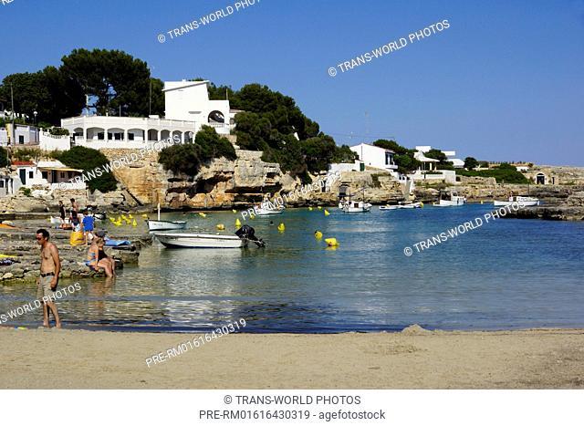 Cala d'Alcaufar, Sant Lluis, Menorca, Spain / Cala d'Alcaufar, Sant Lluis, Menorca, Spanien