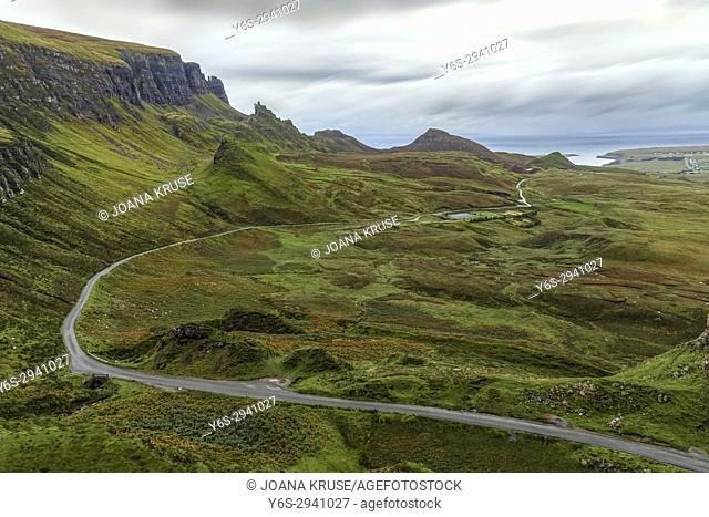 Quiraing, Isle of Skye, Scotland, United Kingdom