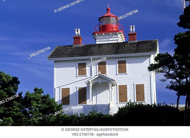Yaquina Bay Lighthouse, Yaquina Bay State Park, Oregon